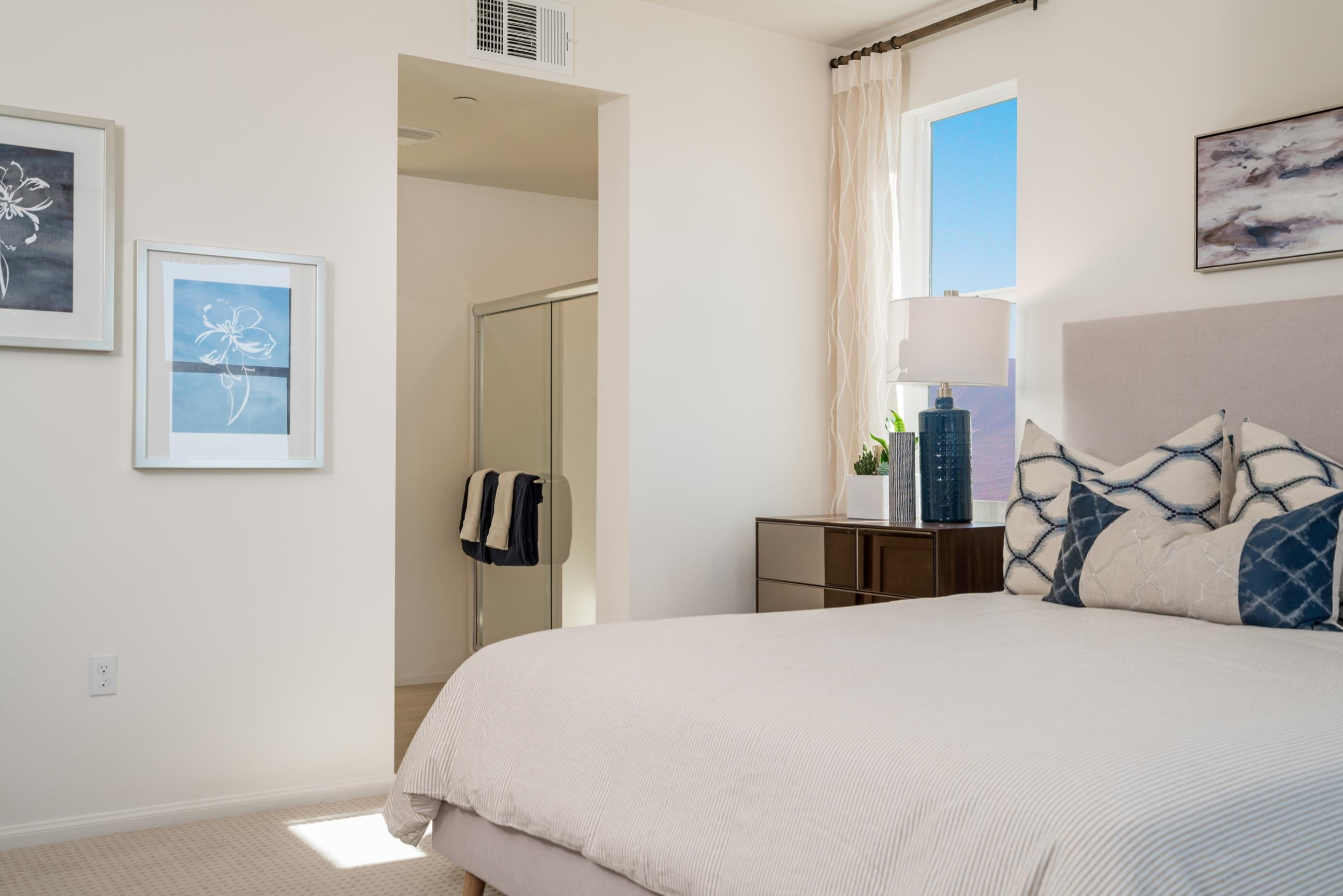 Bedroom featured in the Plan 3 By Heritage Building & Dev't in San Diego, CA