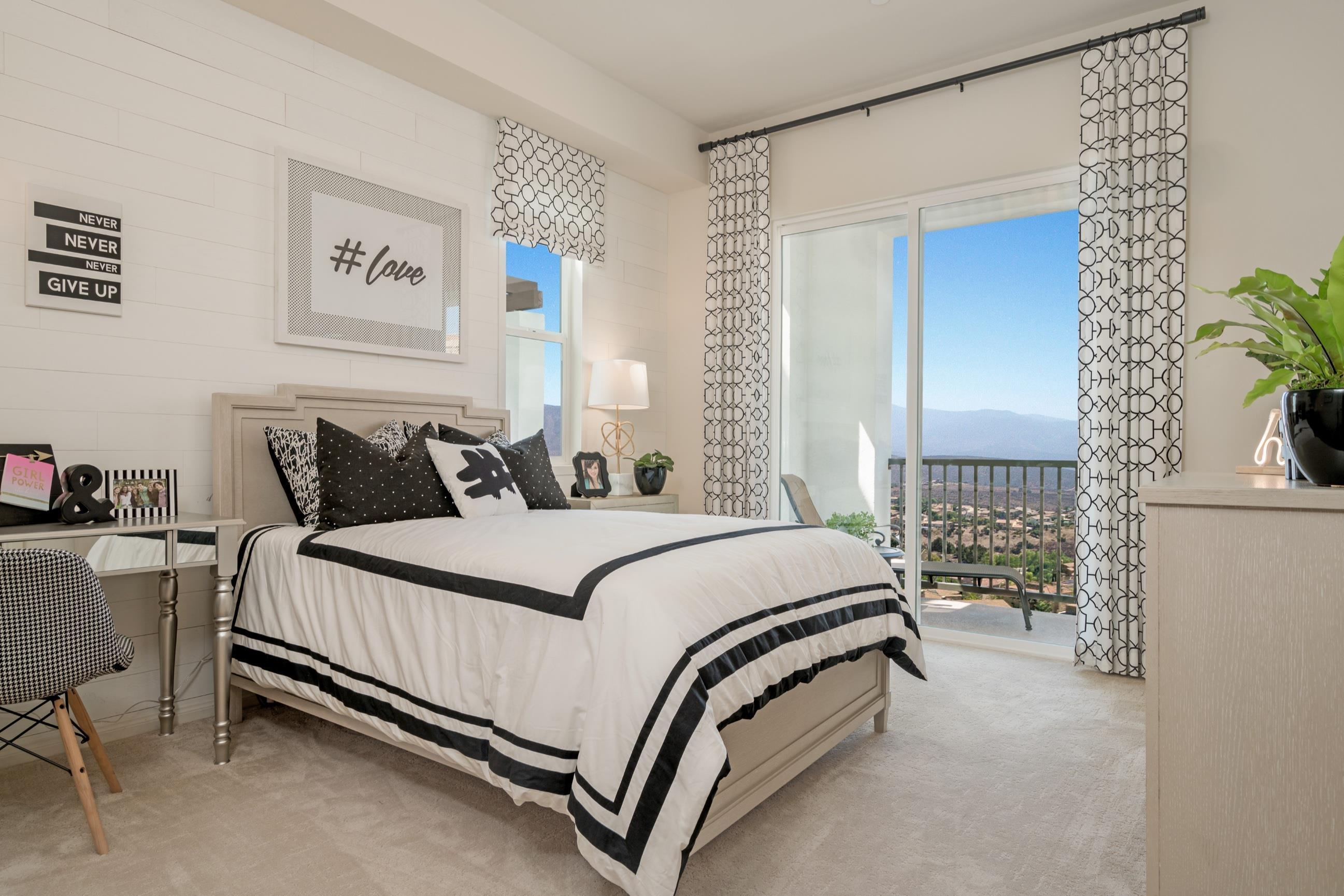 Bedroom featured in the Plan 6 By Heritage Building & Dev't in San Diego, CA