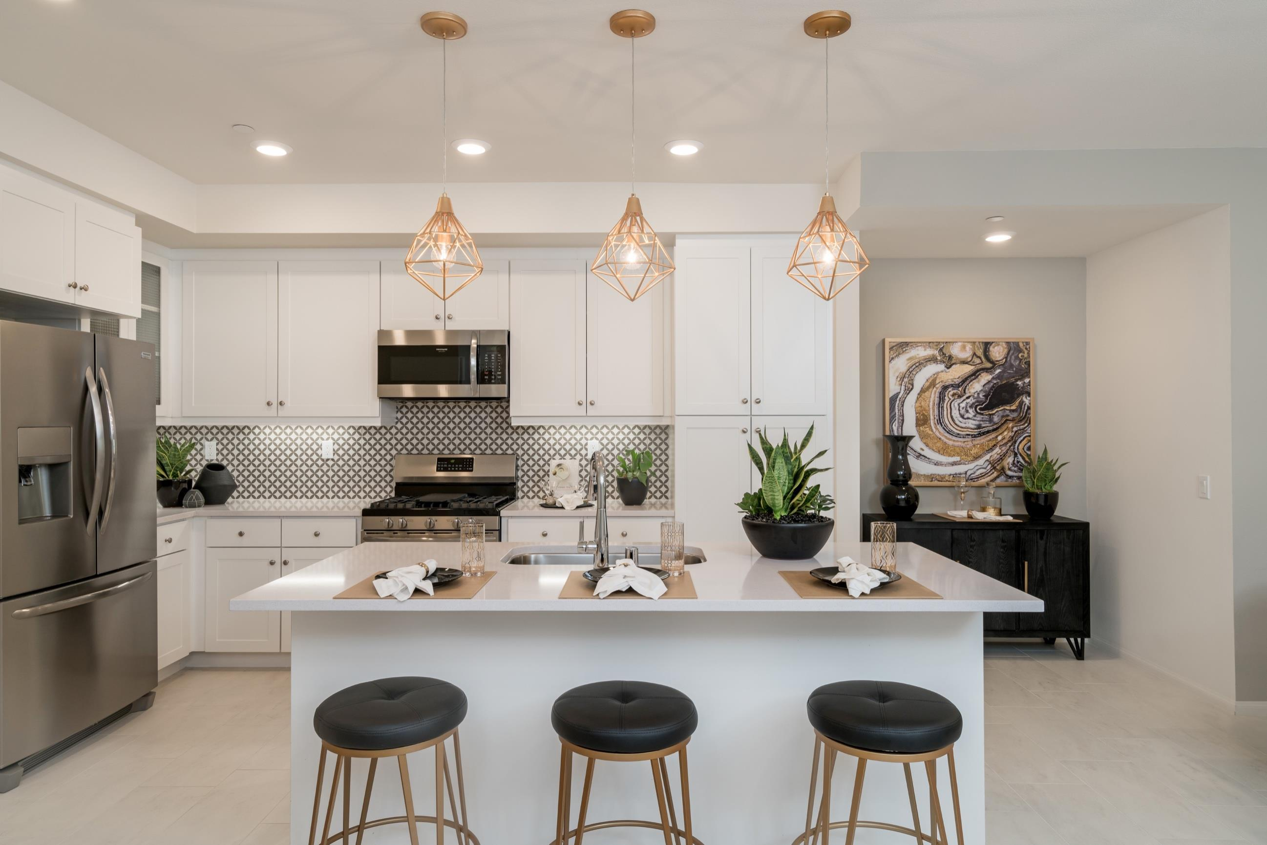Kitchen featured in the Plan 6 By Heritage Building & Dev't in San Diego, CA