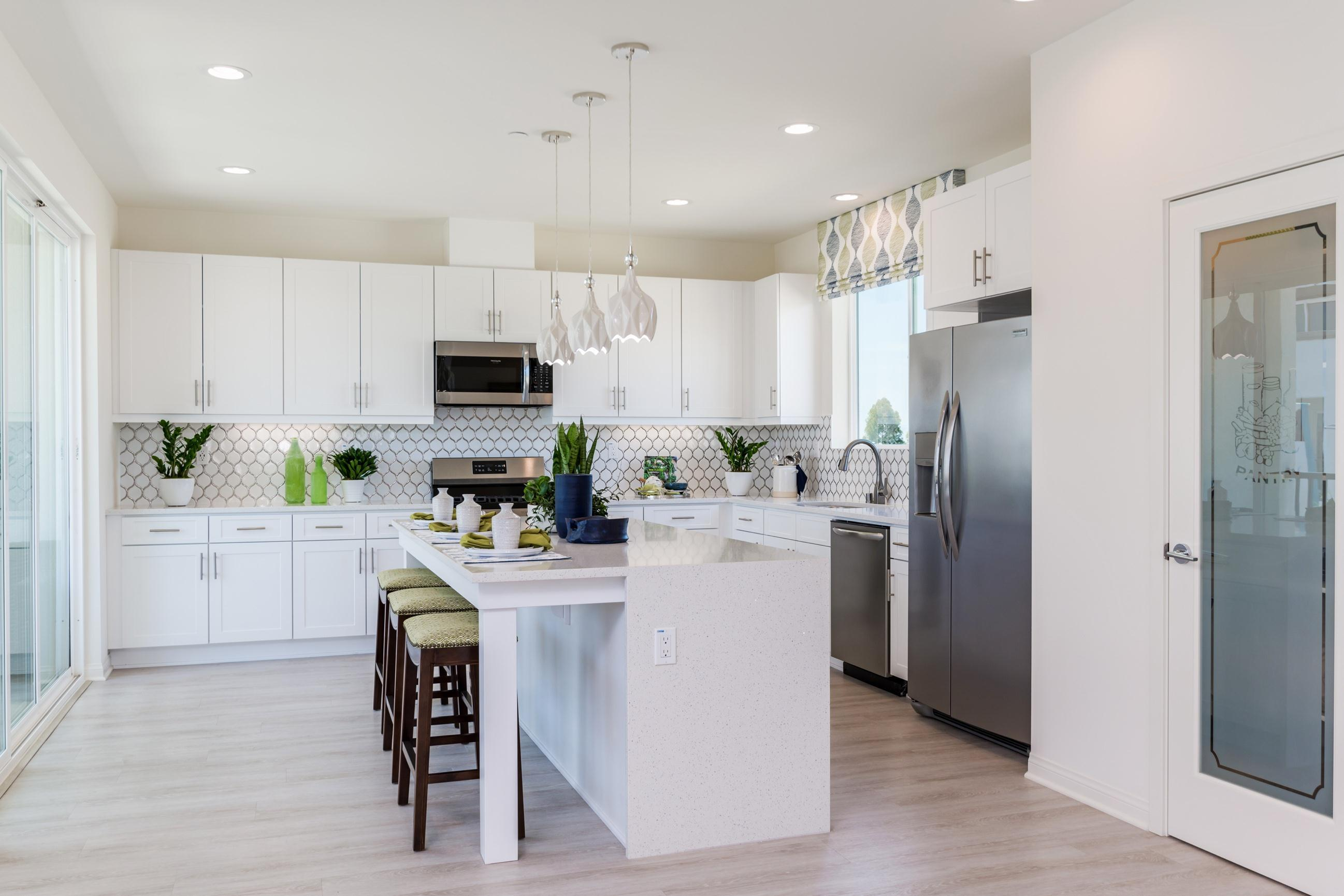 Kitchen featured in the Plan 3 By Heritage Building & Dev't in San Diego, CA