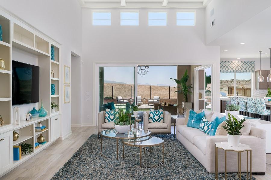 Living Area featured in the Residence 1 By Pacific Coast Communities in San Diego, CA