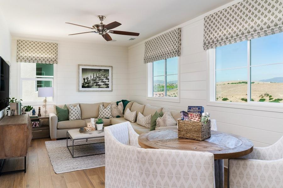 Living Area featured in the Residence 2 By Pacific Coast Communities in San Diego, CA