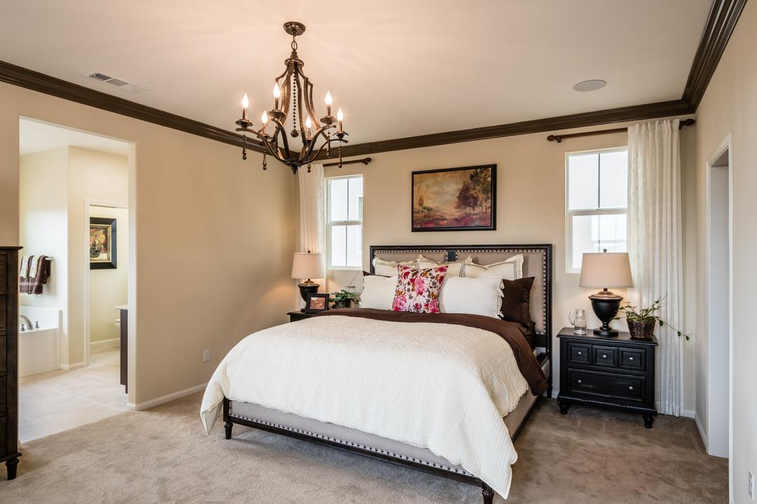 Bedroom featured in the Monte Villa Residence 3 By Pacific Coast Communities in San Diego, CA