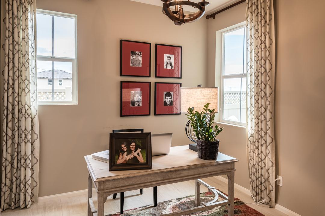 Living Area featured in the Monte Villa Residence 3 By Pacific Coast Communities in San Diego, CA