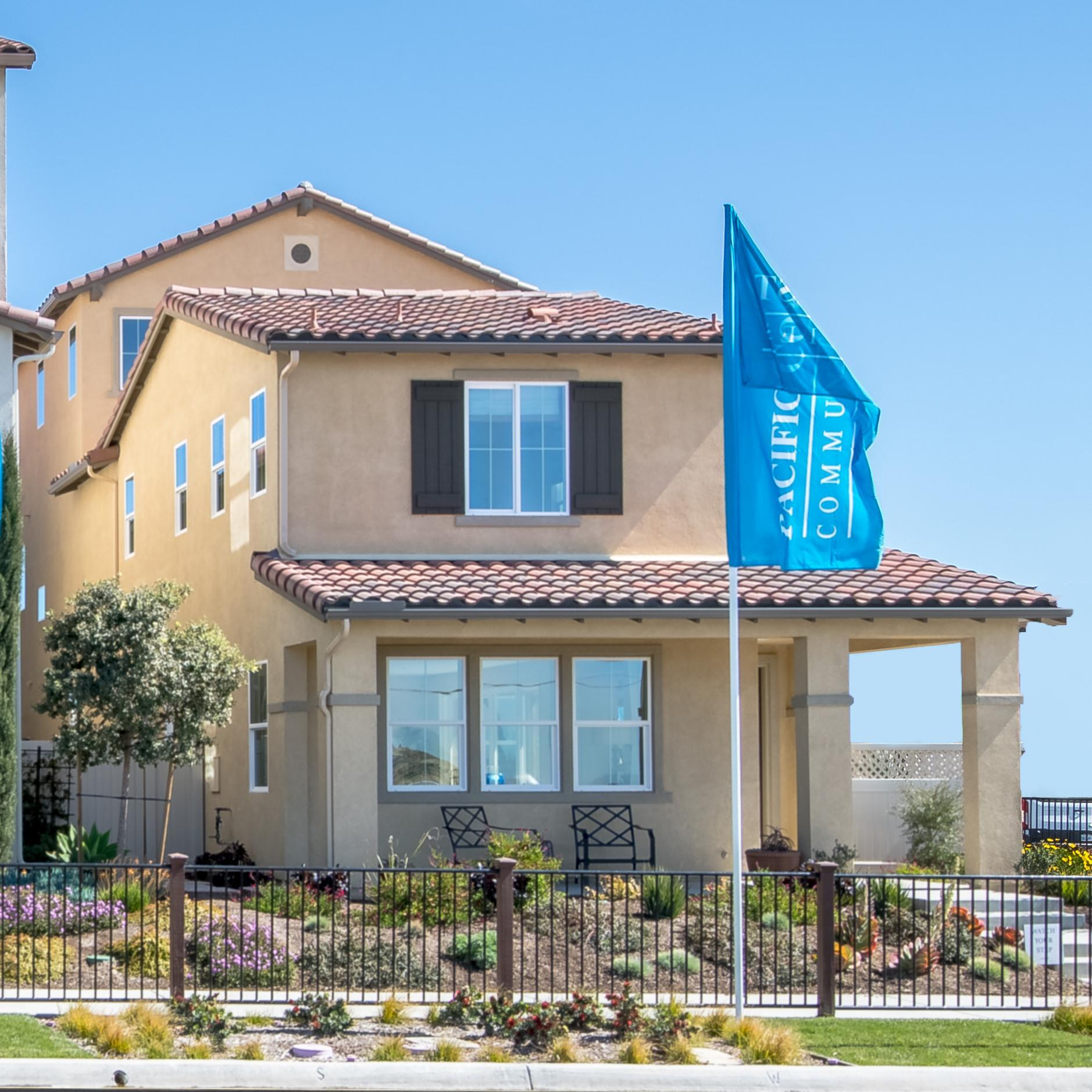 Exterior featured in the Monte Villa Residence 3 By Pacific Coast Communities in San Diego, CA
