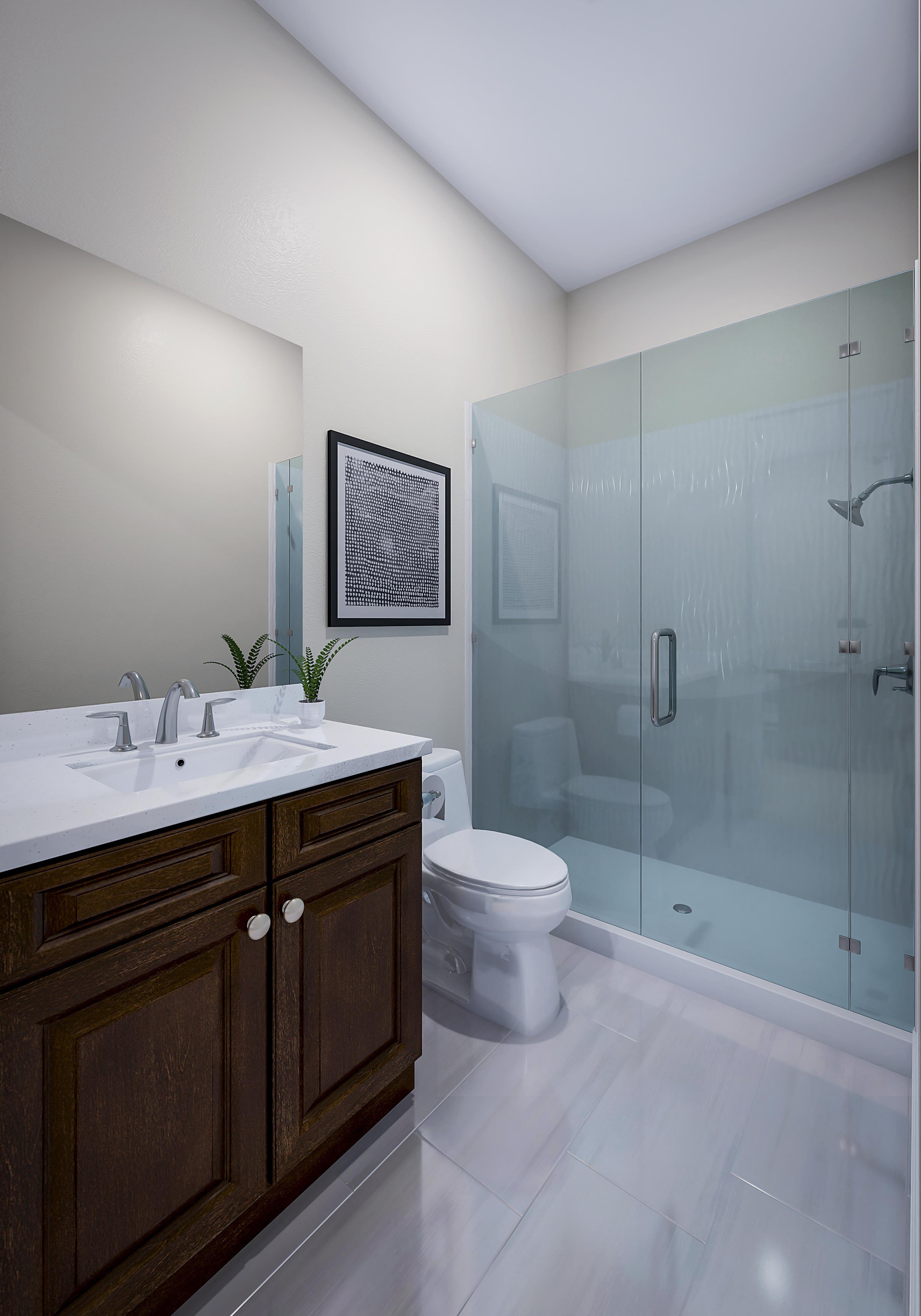 Bathroom featured in the Residence 1 By Pacific Legacy Homes in San Diego, CA