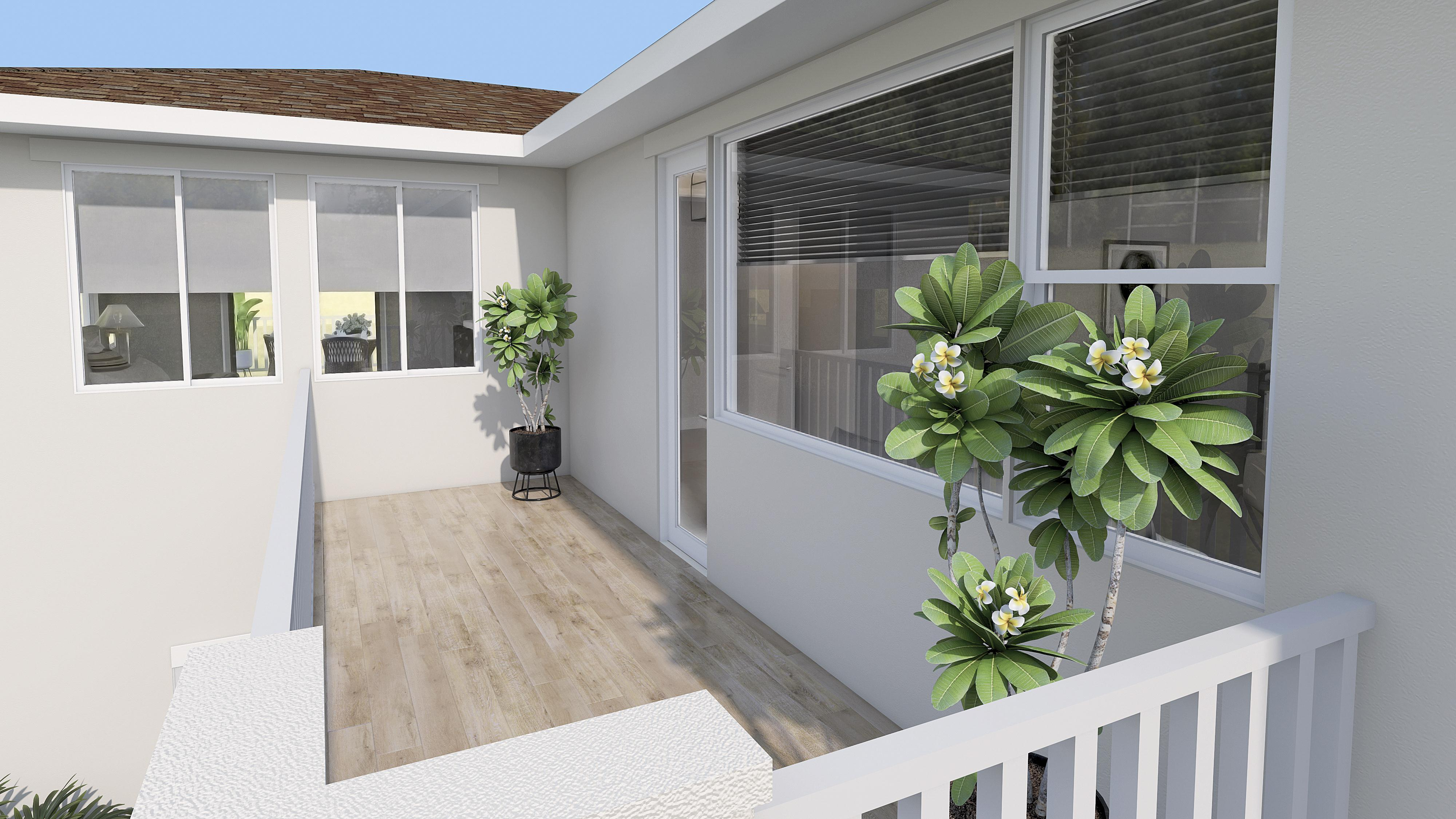 Exterior featured in the Residence 2 By Pacific Legacy Homes in San Diego, CA
