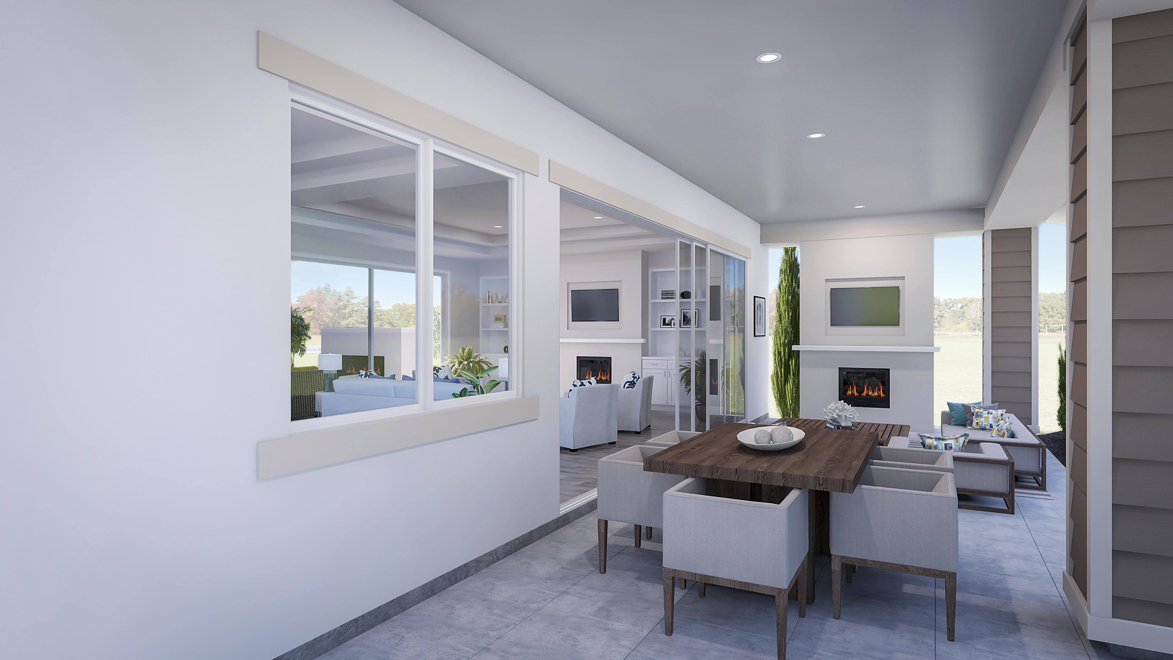 Living Area featured in the Residence 2 By Pacific Legacy Homes in San Diego, CA