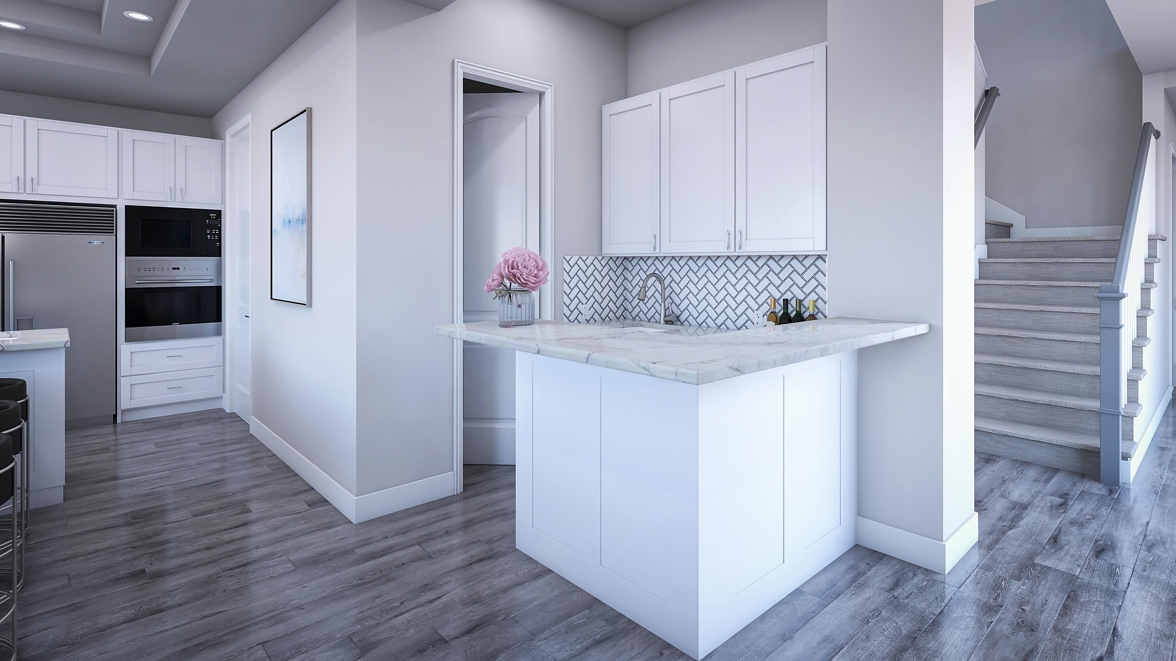 Kitchen featured in the Residence 2X By Pacific Legacy Homes in San Diego, CA