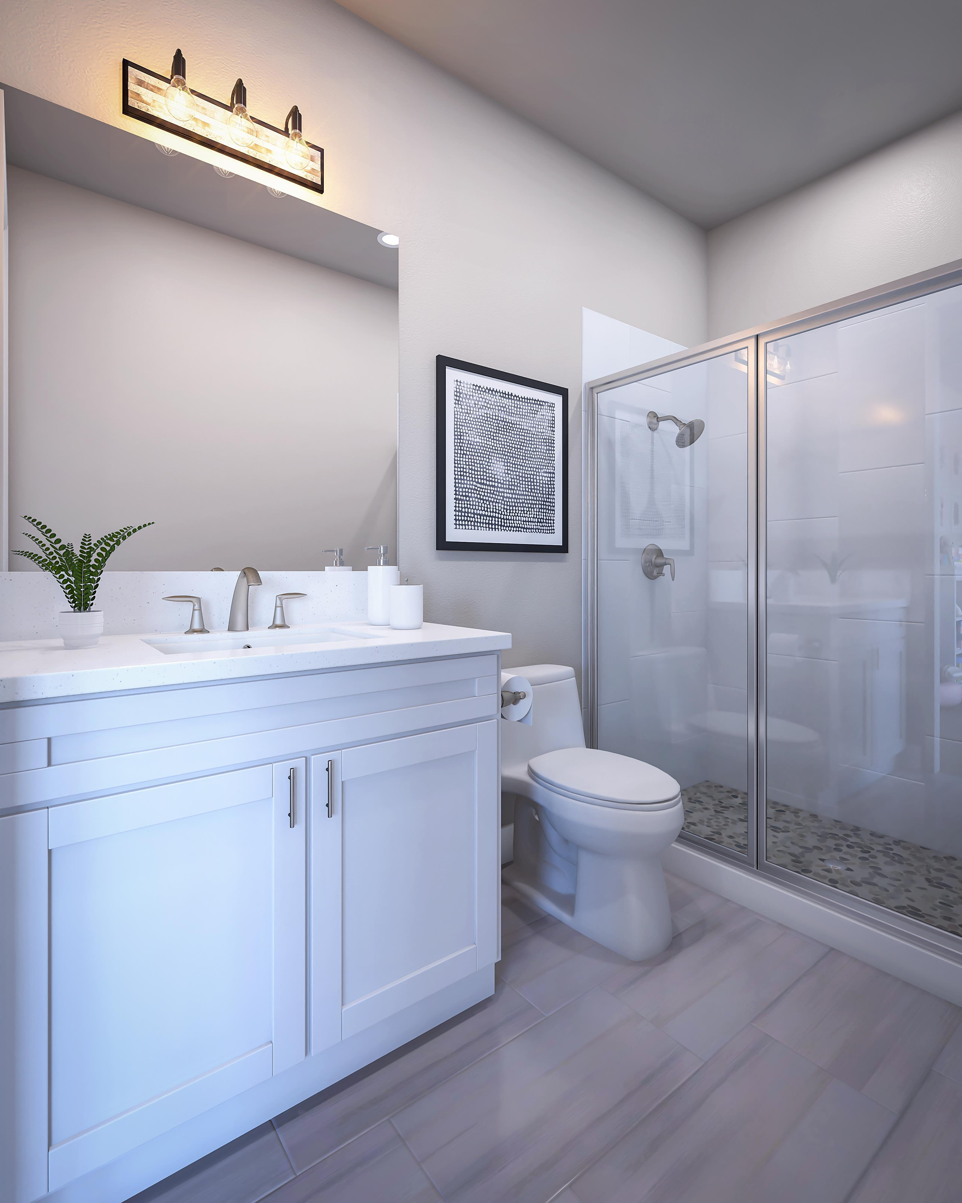 Bathroom featured in the Residence 2X By Pacific Legacy Homes in San Diego, CA