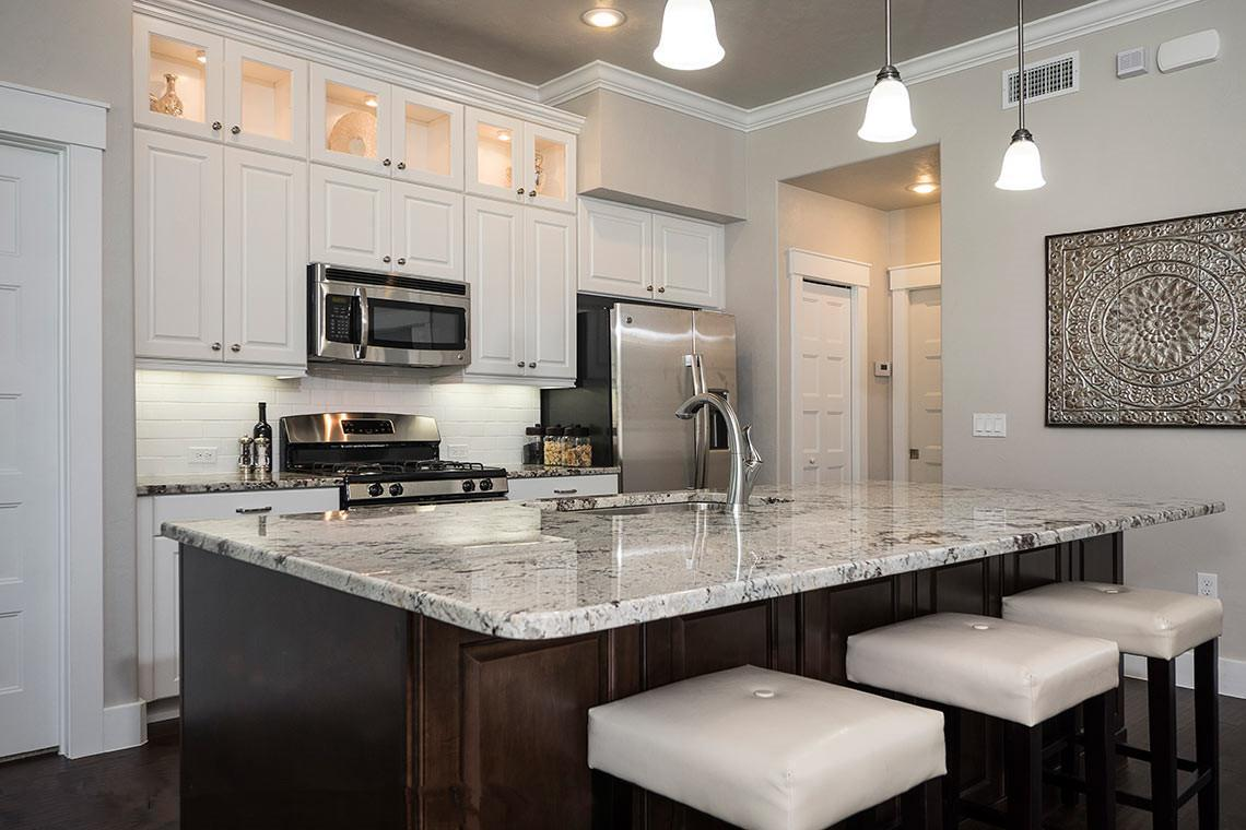 Kitchen featured in the Villa Vincenzo By Palladio Homes in Melbourne, FL