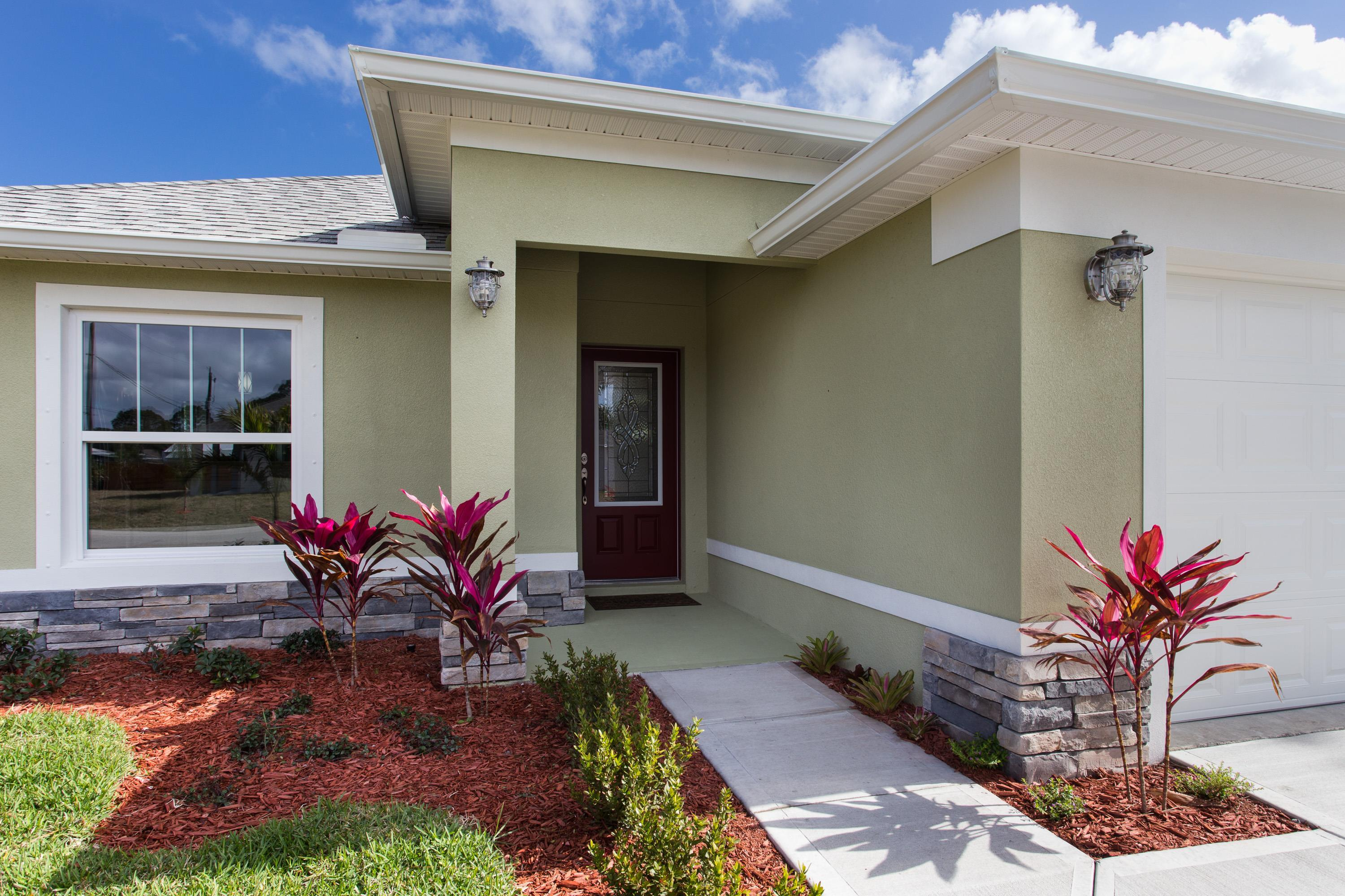 Exterior featured in the Villa Cerato By Palladio Homes in Melbourne, FL
