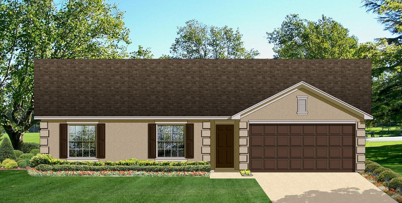 Exterior featured in the Millennial Mini By Palladio Homes in Ocala, FL