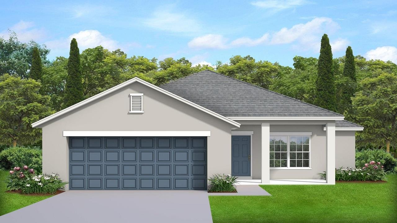 Exterior featured in the Model X By Palladio Homes in Ocala, FL