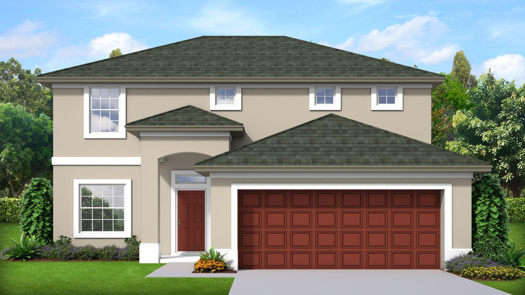 Exterior featured in the Millennial II By Palladio Homes in Melbourne, FL