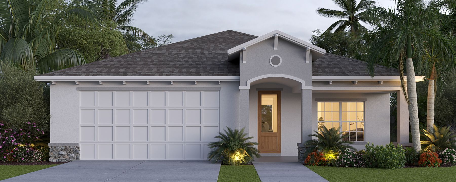 Exterior featured in the Villa Pisani (2-car) By Palladio Homes in Ocala, FL