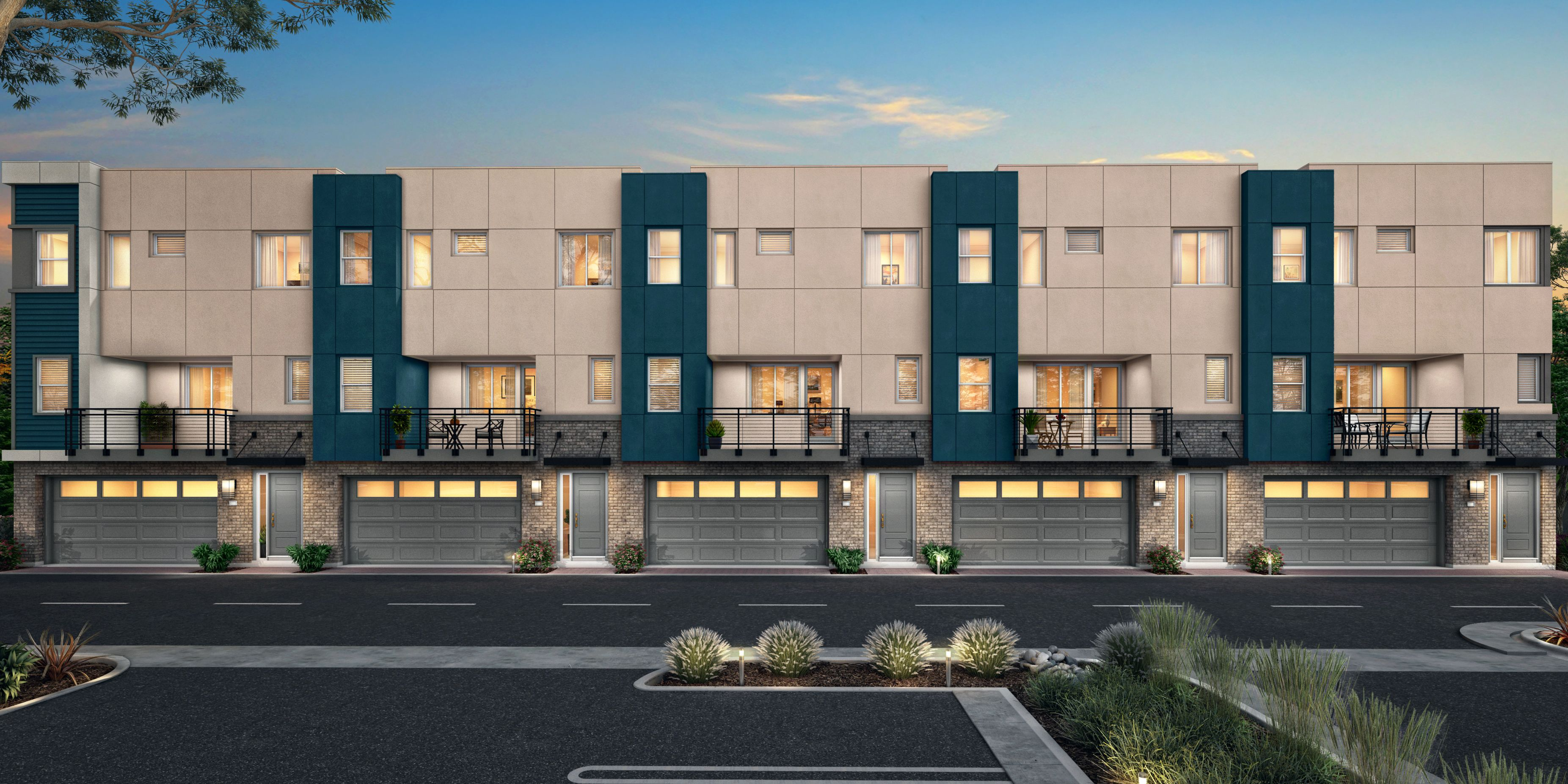 Exterior featured in the Plan 3 By Pan Cal in San Jose, CA