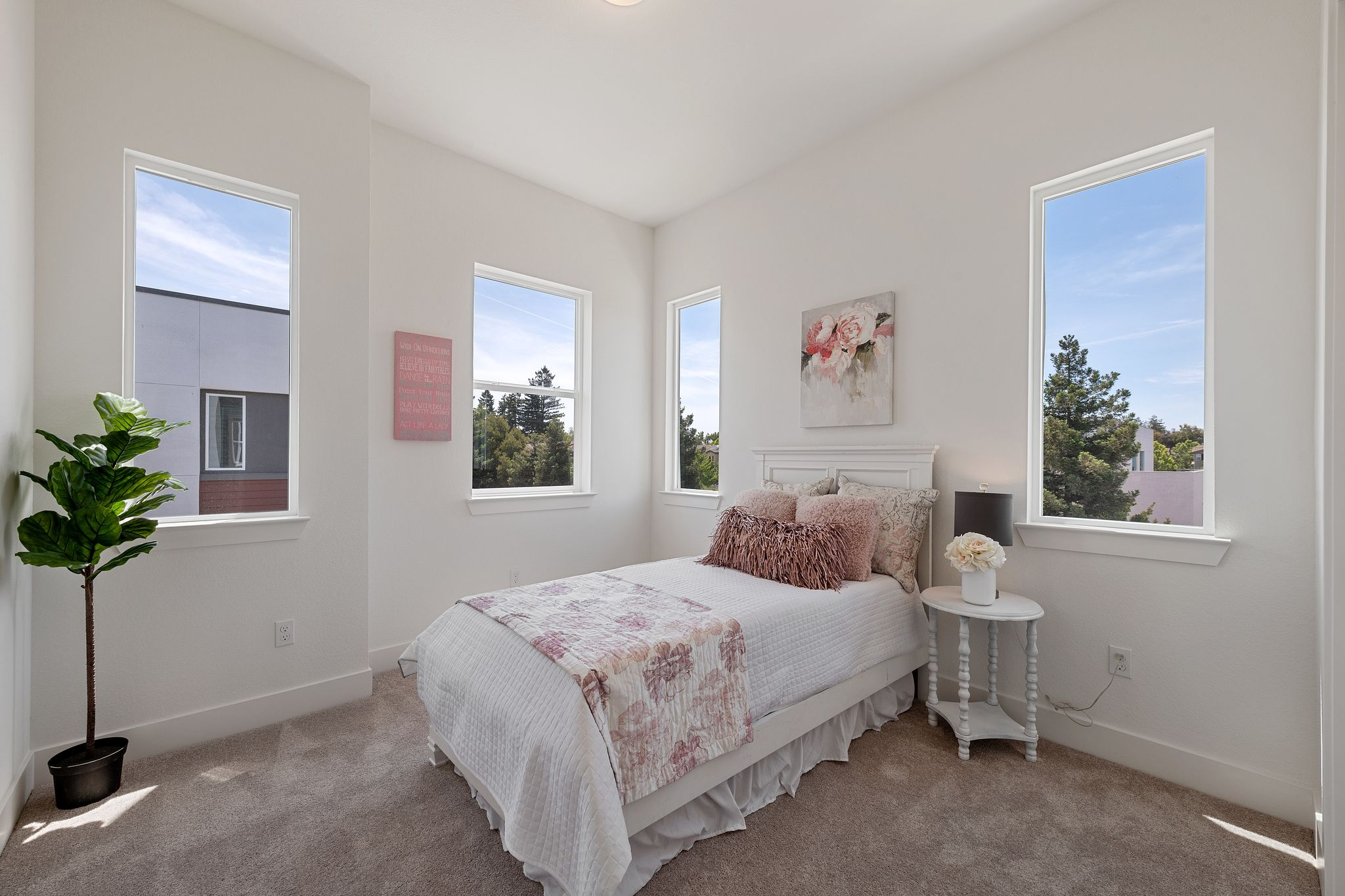 Bedroom featured in the Plan 3 By Pan Cal in San Jose, CA