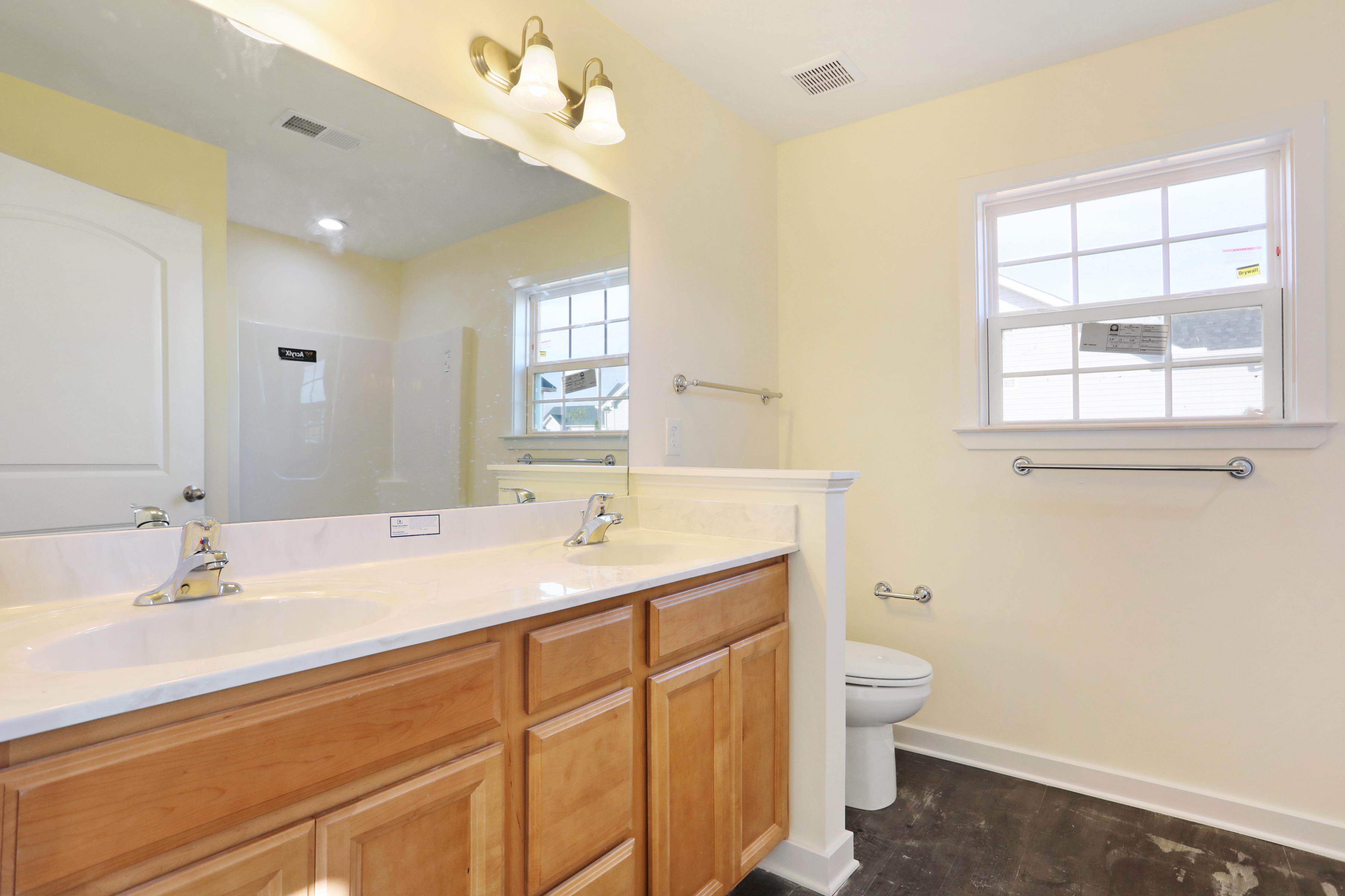 Bathroom featured in The Morgan I By Panhandle Builders in Washington, WV