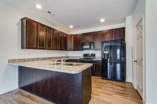 Kitchen-in-The Savannah Carriage Home-at-Spring Mills-in-Falling Waters