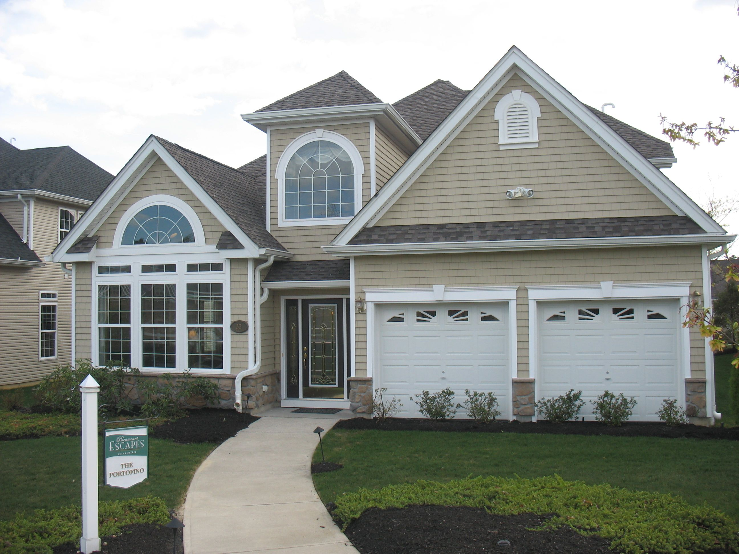 Exterior featured in the Portofino By Paramount Homes in Ocean County, NJ