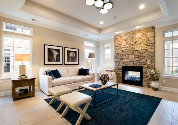 Living Area featured in the Capri By Paramount Homes in Ocean County, NJ