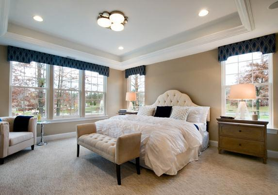 Bedroom featured in the Capri By Paramount Homes in Ocean County, NJ