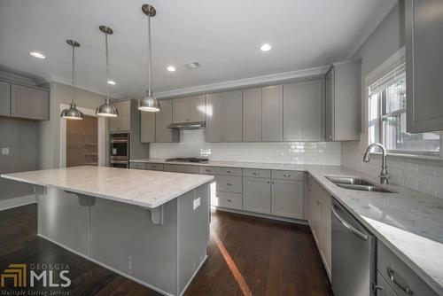 Kitchen-in-Primrose-at-The Woods of Midvale-in-Tucker