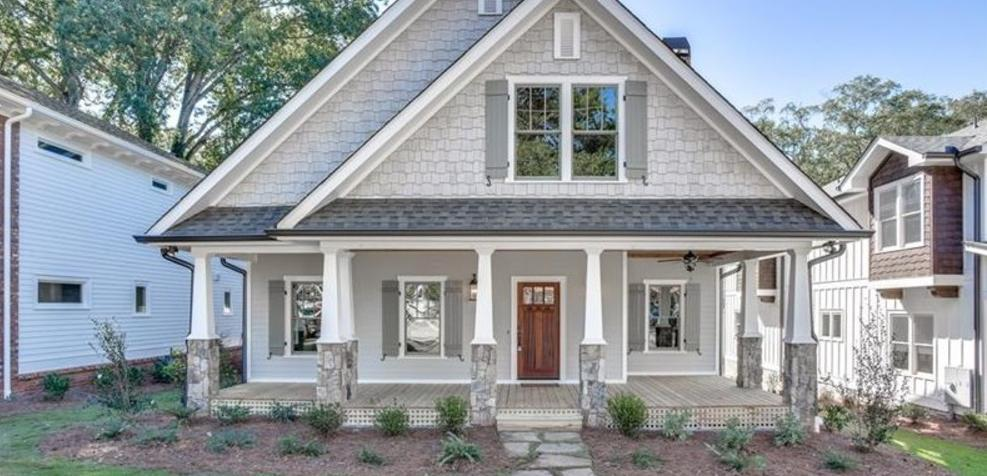 Exterior featured in the Plan 152 By Parclife Homes in Atlanta, GA