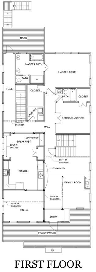 Living Area featured in the Plan 152 By Parclife Homes in Atlanta, GA