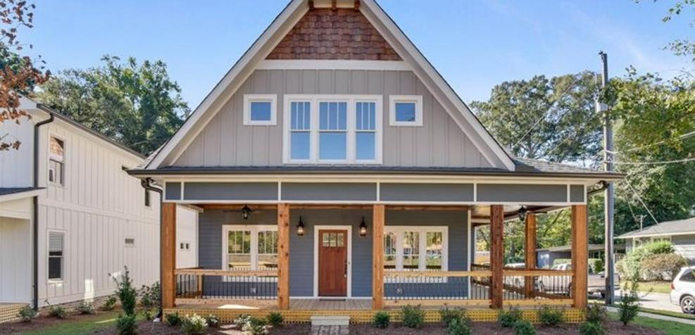 Exterior featured in the Plan 160 By Parclife Homes in Atlanta, GA
