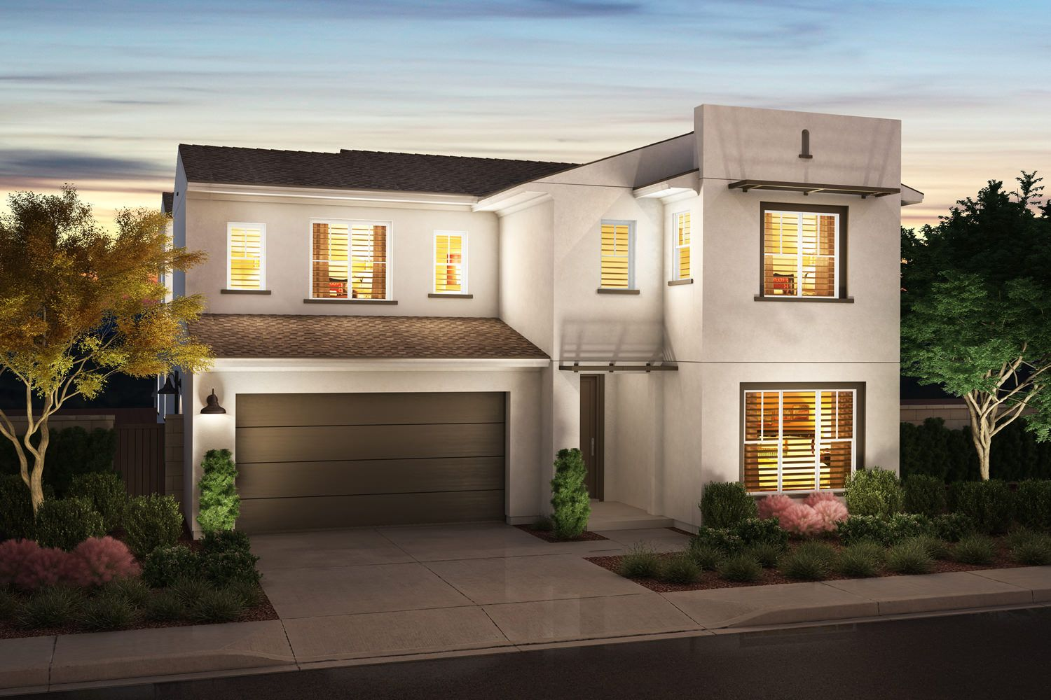 Exterior featured in the Plan 4 By Pardee Homes in San Diego, CA