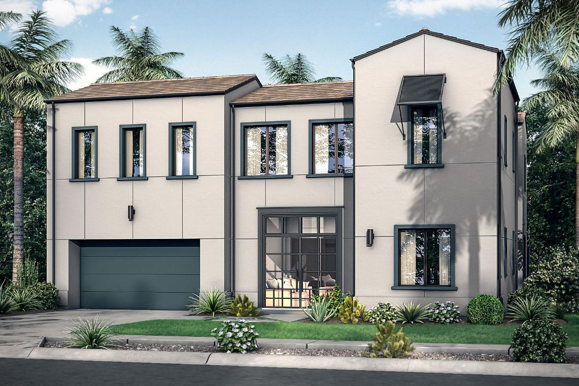 Exterior featured in the Plan 3 By Pardee Homes in San Diego, CA