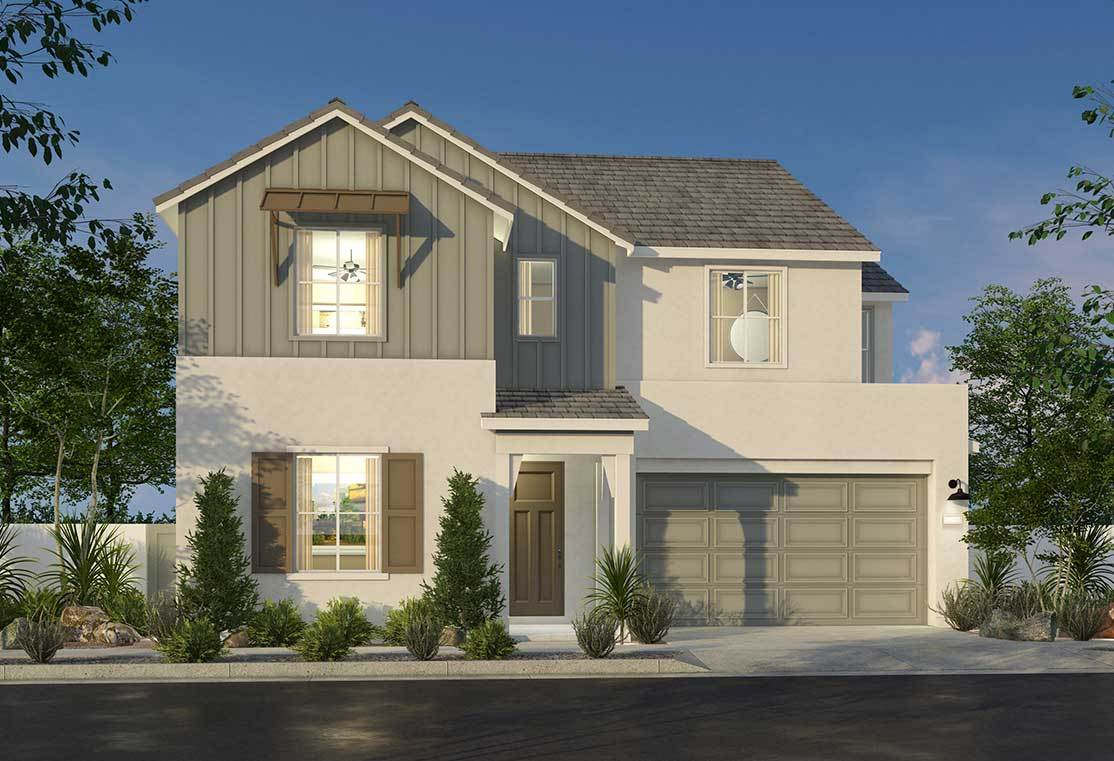 Exterior featured in the Plan 3 By Pardee Homes in Los Angeles, CA