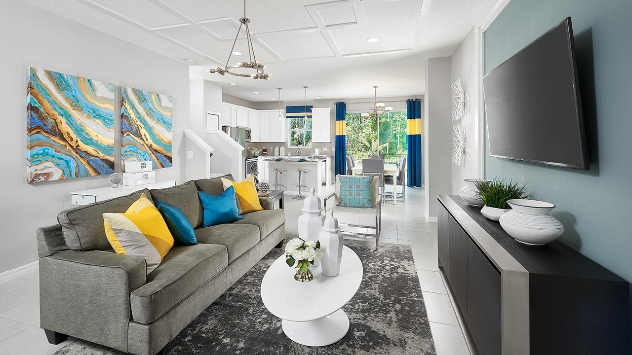 Living Area featured in the Kennedy By Park Square Residential in Tampa-St. Petersburg, FL