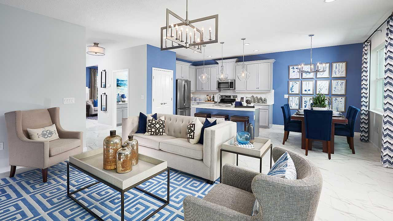 Living Area featured in the Pembroke By Park Square Residential in Lakeland-Winter Haven, FL