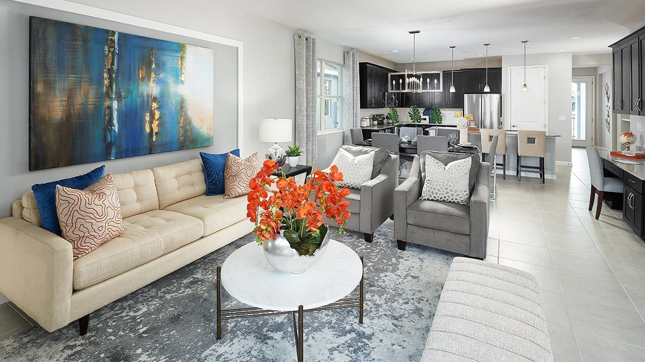 Living Area featured in the Margate II By Park Square Residential in Lakeland-Winter Haven, FL