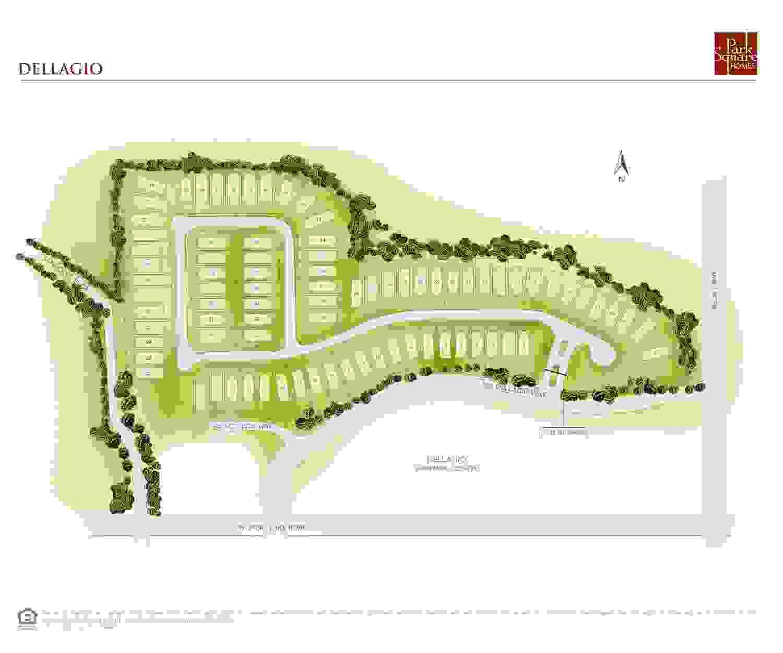 Dellagio Site Map