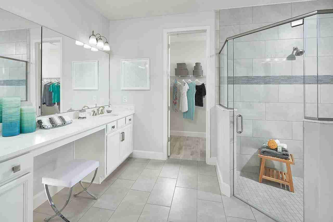 Master Bathroom at Wexham Court