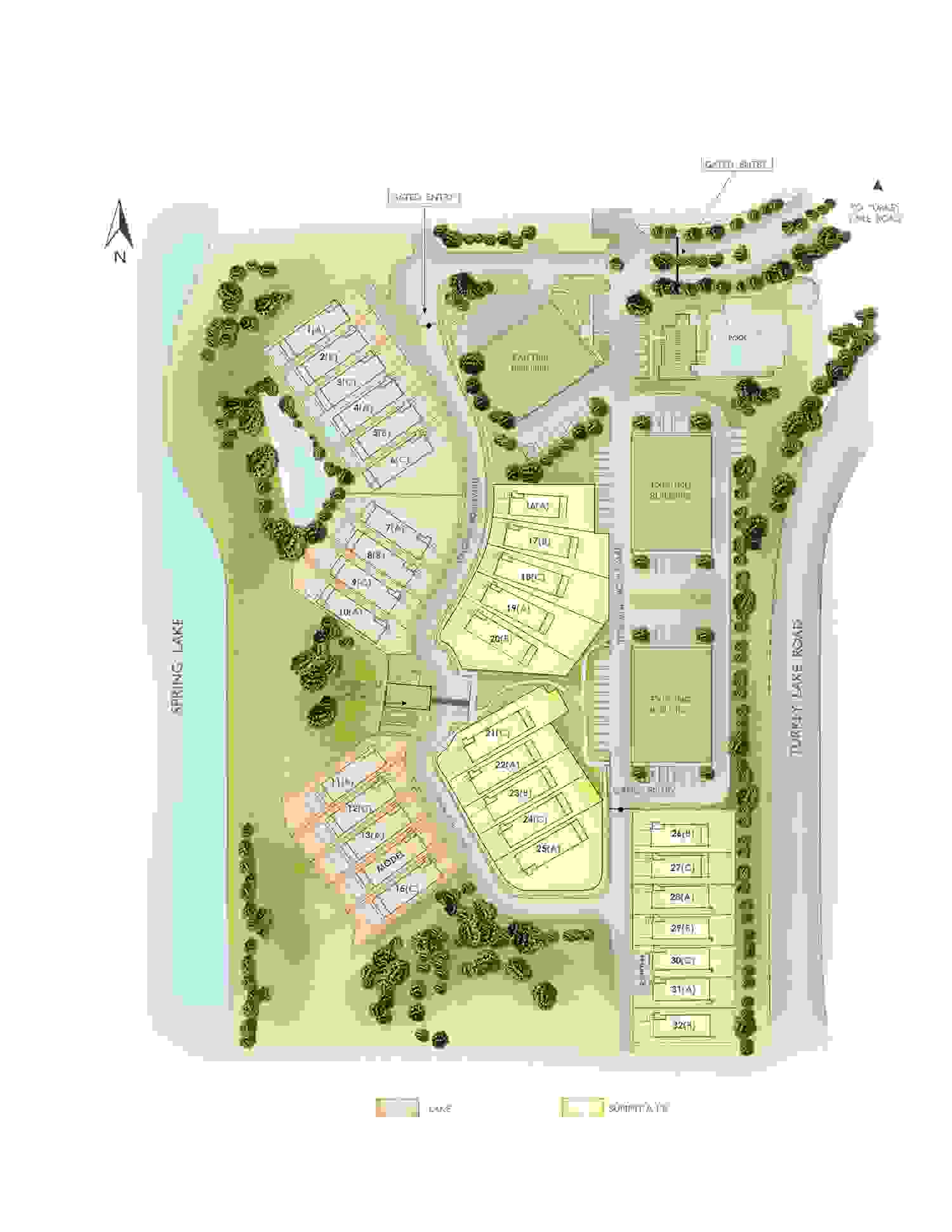 Lakeside at Toscana Sitemap