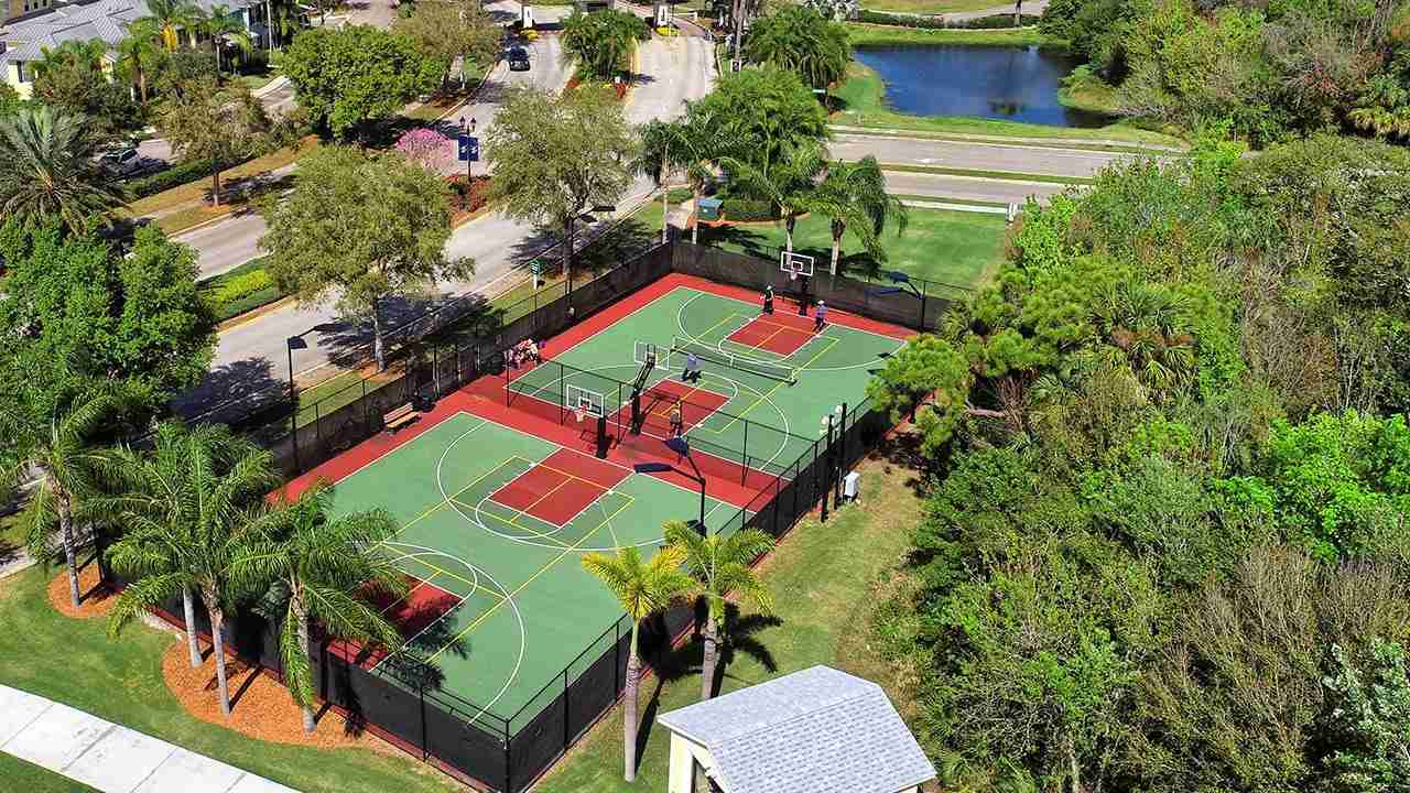 MiraBay Basketball Courts