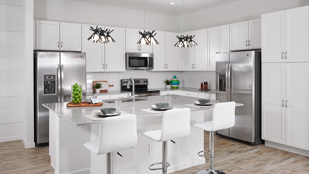 Kitchen featured in the San Clemente By Park Square Resort in Orlando, FL