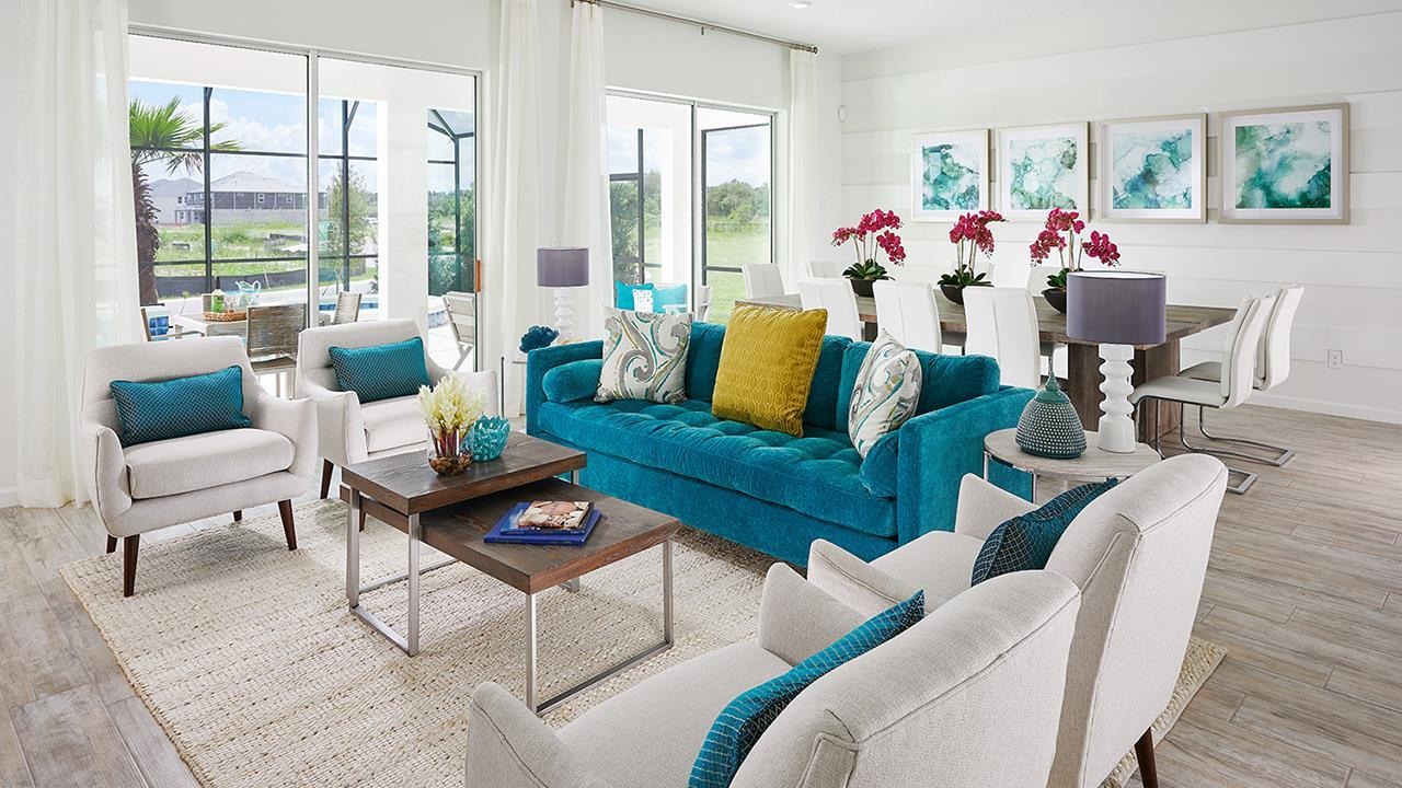 Living Area featured in the San Clemente By Park Square Resort in Orlando, FL