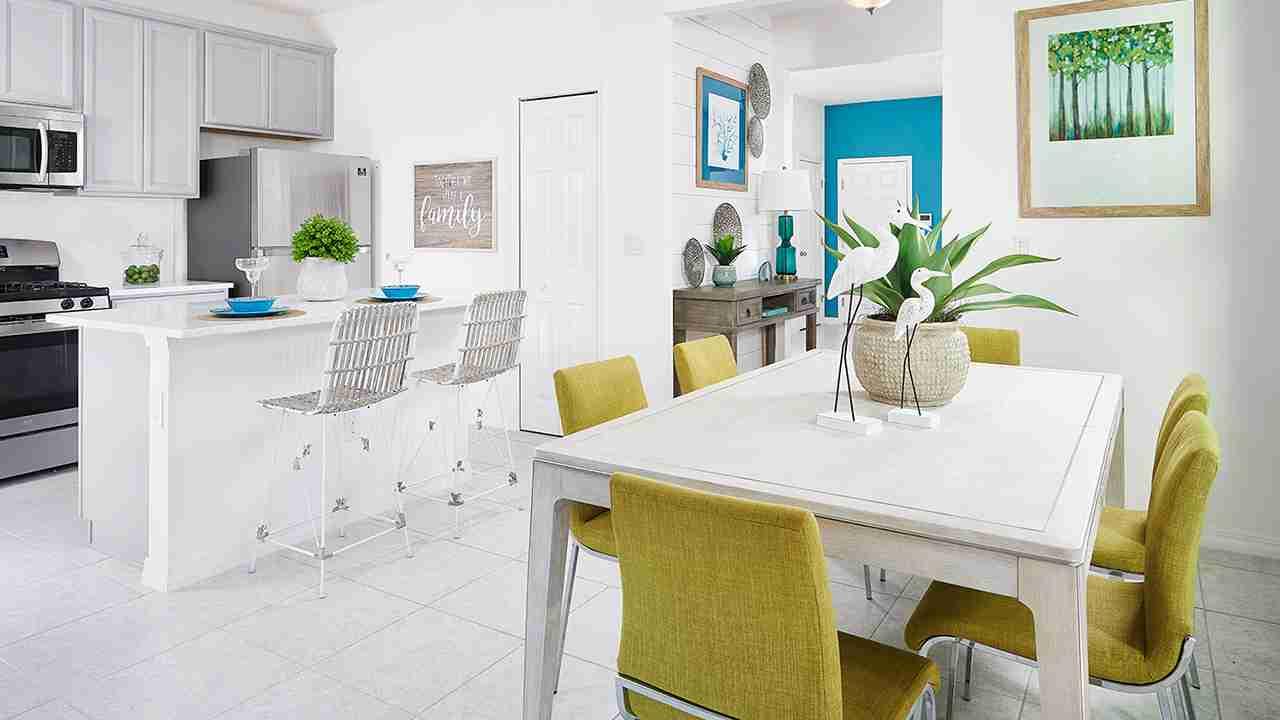FishHawk Lincol;n Model Dining Room