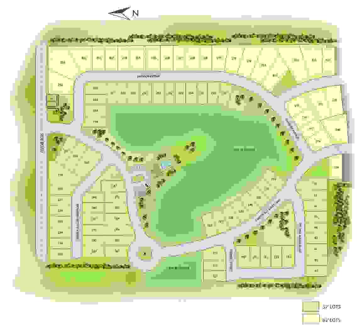 Tarpon Bay Phase II Sitemap