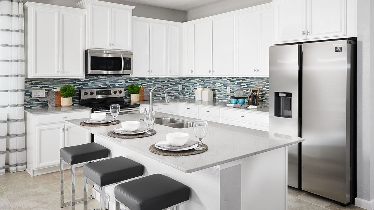 Kitchen featured in the Daytona By Park Square Residential in Lakeland-Winter Haven, FL