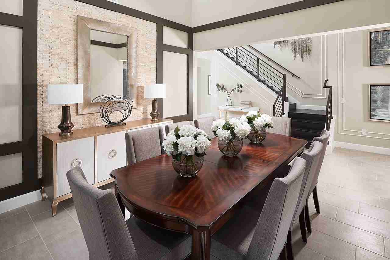 Redwood Model - Dining Room