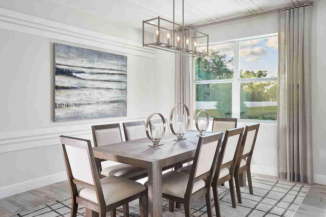 Teton Model - Dining Room
