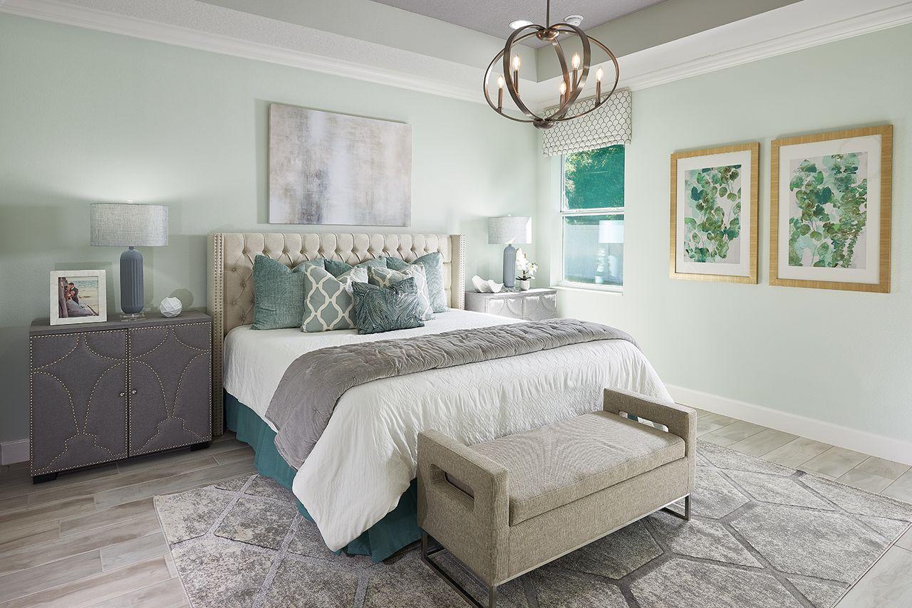 Teton Model - Master Bed