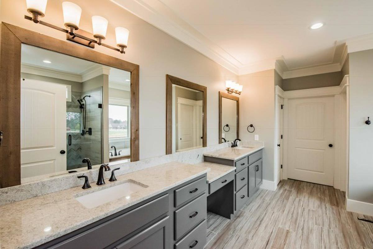 Bathroom featured in the Craftsman By Parker Rose Custom Homes in Morgantown, WV